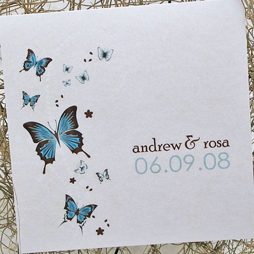 Cute and romantic butterfly wedding invitations – Wedding Butterfly Invitations