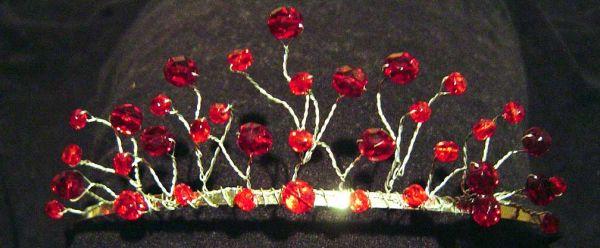 Damsel Garland bridal tiara