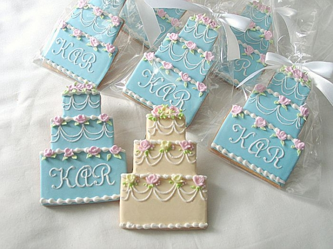 Innovative Wedding Cake Decor