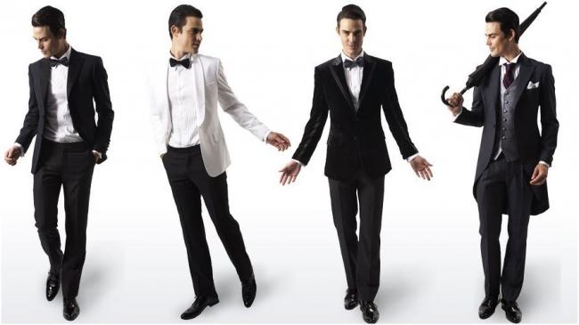 Men's wedding formal wear