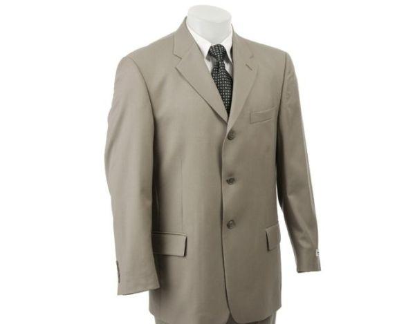 Pierre Cardin Pleated 3-button Suit