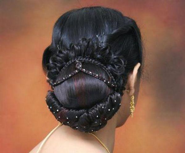 The bun hairstyle