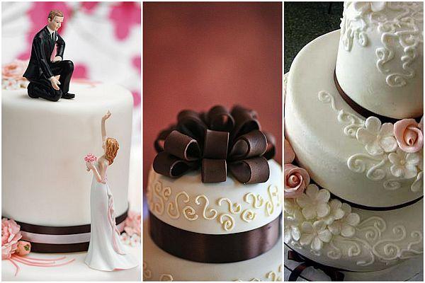 Wedding cake top tier