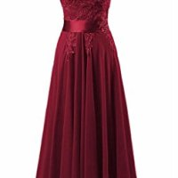 KMFORMALS Women's Long Lace Prom Evening Dresses