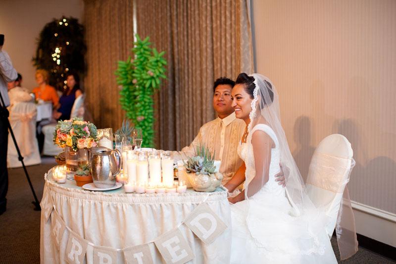 Filipino Wedding Traditions Reception