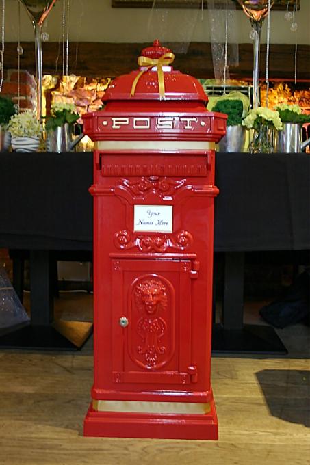 Wishing Well And Postbox For Wedding In Hertfordshire Wedding DJ Hertfordshire