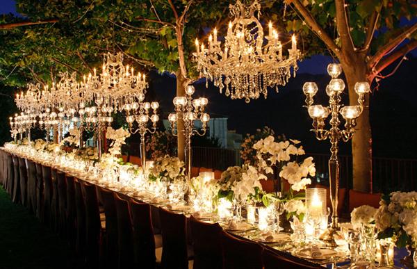 Wedding Outdoor Chandeliers 6
