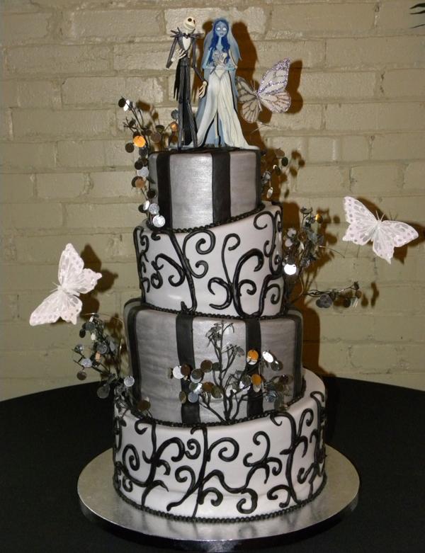Halloween Themed Wedding Cakes WeddingElation