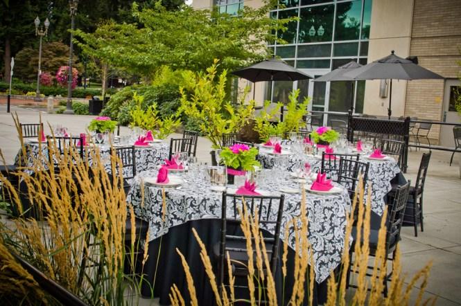 Pink Mint Bridal Shower Decorating Ideas