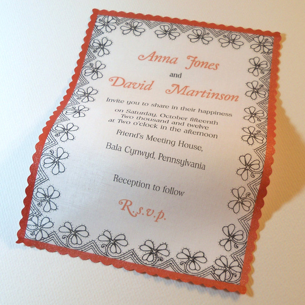 Unusual Wedding Invitation Ideas