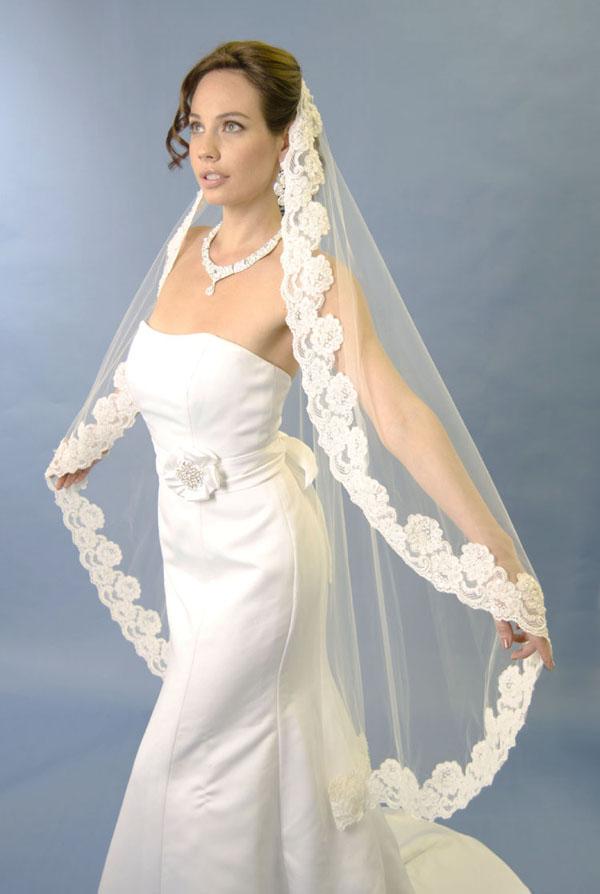 Types Of The Wedding Veils Length WeddingElation
