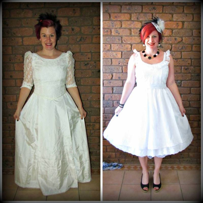 50 Incredible Non Traditional Wedding Dresses Under 500: Thrift Store Wedding Upcycles Brides Will Love