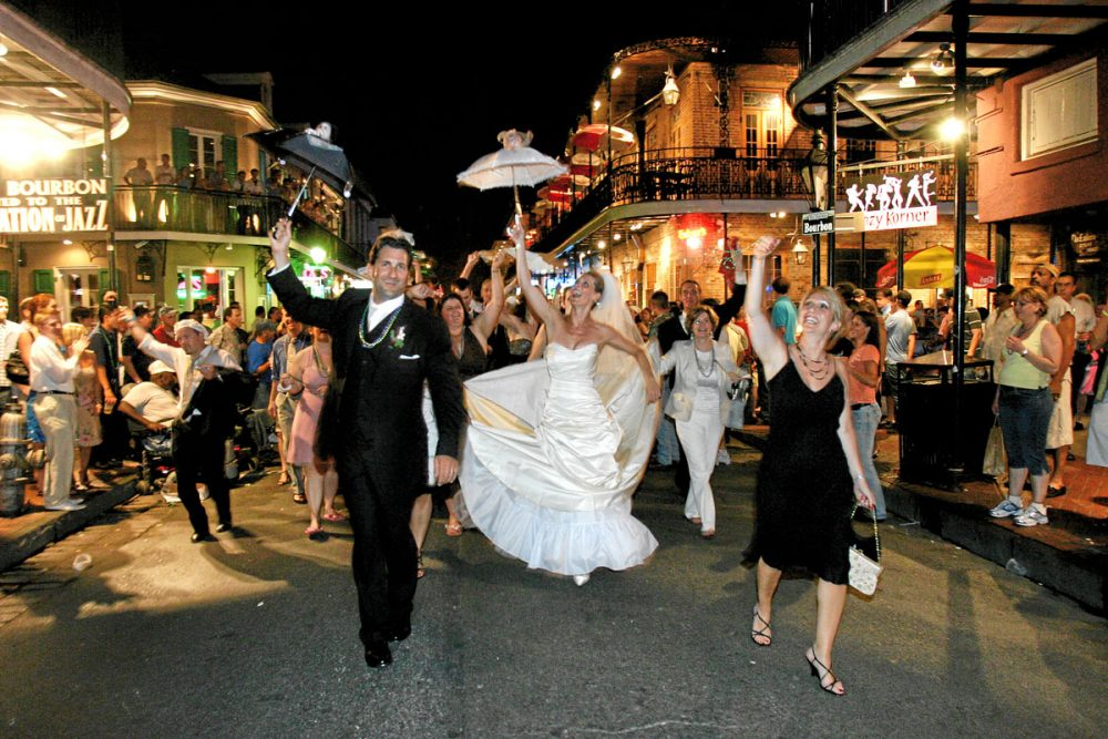 Wedding Inspiration New Orleans Style Wedding Fanatic