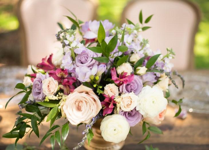 Romantic Italian Lavender Wedding