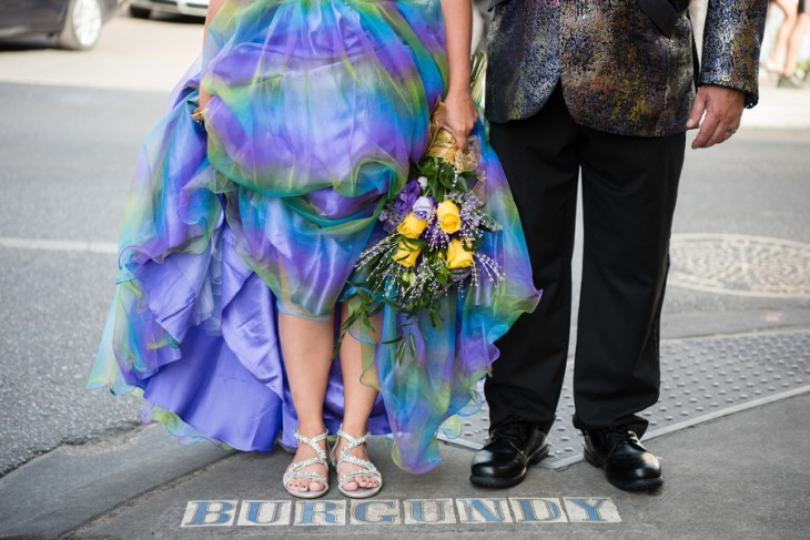 All You Need Is Love   Colorful and Fun Elopement