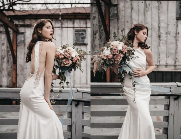 Bold and Minimalistic Modern Bridal Shoot