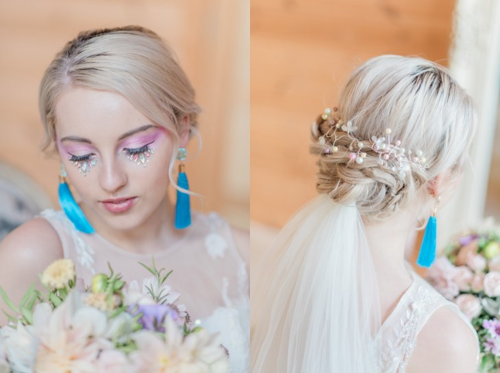 Unicorn Inspired Styled Shoot