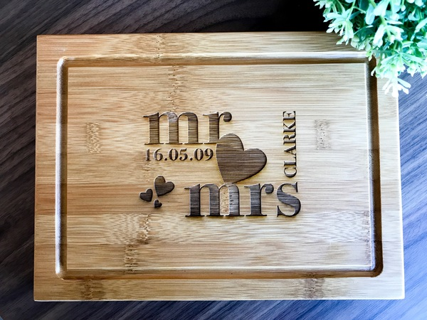 Personalized Serving Board Custom Presentation Serving