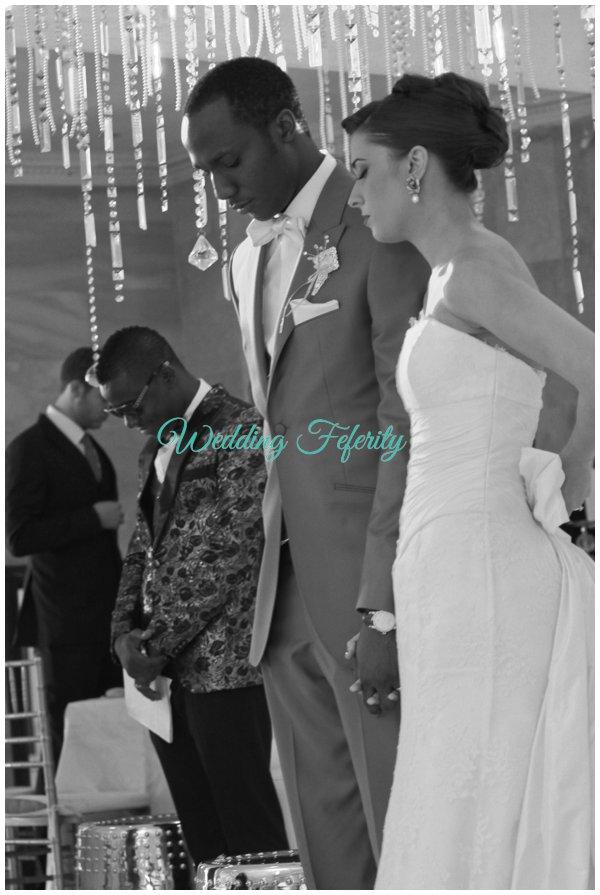 nigerian wedding reception