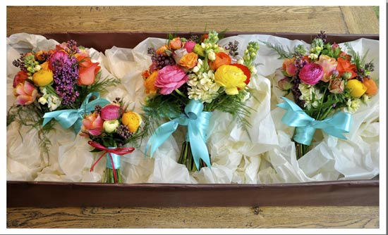 April Wedding Flowers Are Perfect By Rose And Grace