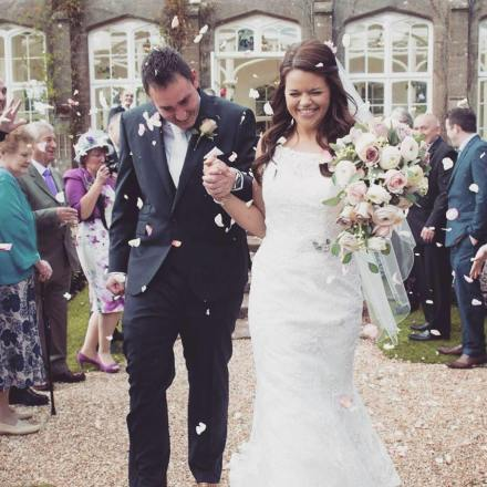 Brides Teardrop Bouquet