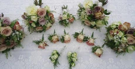 Bouquets, buttonholes and corsages