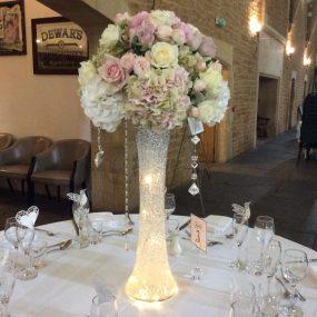 Tall luxury vases