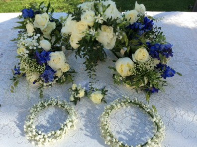 Bouquets and Headresses