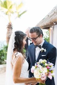 Bridal bouquet in Ibiza
