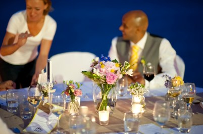 Table-flowers-and candles