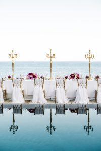 Intimate Wedding with Peonies and Bougainvillea