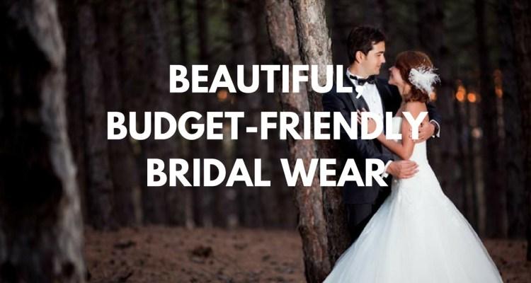 Beautiful, Budget-Friendly Bridal Wear - weddingfor1000.com
