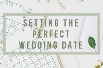 Setting the Perfect Wedding Date - weddingfor1000.com