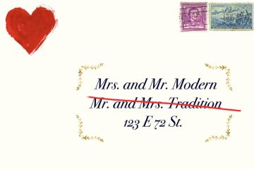 Mr Modern: take it like a man - her last name. weddingfor1000.com