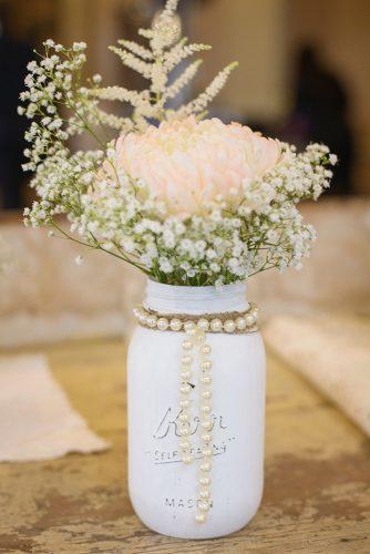 33 Gorgeous Mason Jars Wedding Centerpieces Page 5 Of 7 Wedding Forward