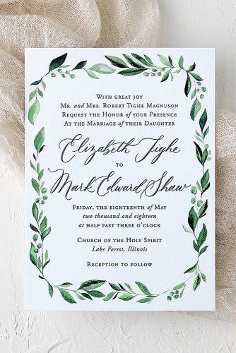 Wedding Invitation Wording Examples And