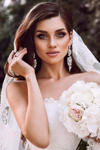 fall wedding makeup shimmer pink smoky eyes tominamakeup