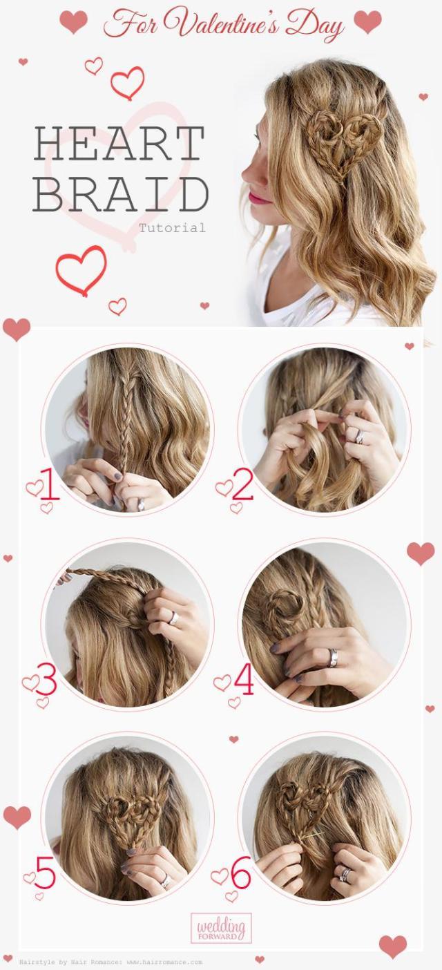 valentine's day hairstyles | wedding forward