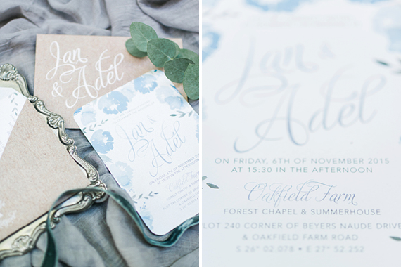 Chrystalace Wedding Stationery Adel & Jan