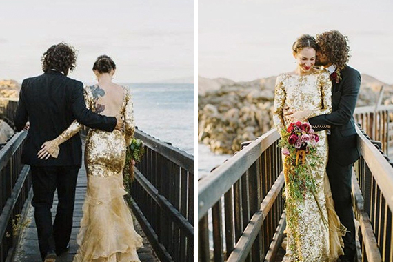 """<a href=""""https://za.pinterest.com/pin/53832158023544006/"""" target=""""_blank"""">Gold Wedding dress from the back</a> 