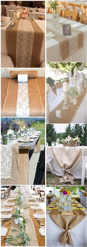 31 trendy rustic wedding table runner