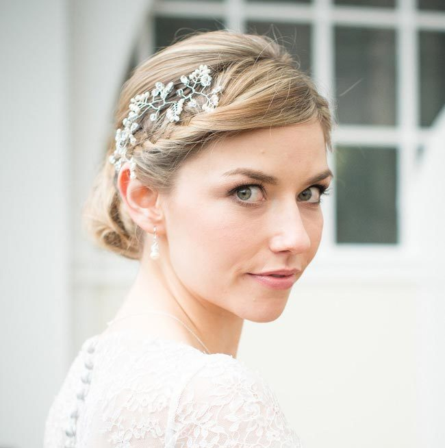 Wedding Hair Accessories: Your Guide to Bridal Hair Accessory Ideas bridal floral hair vine