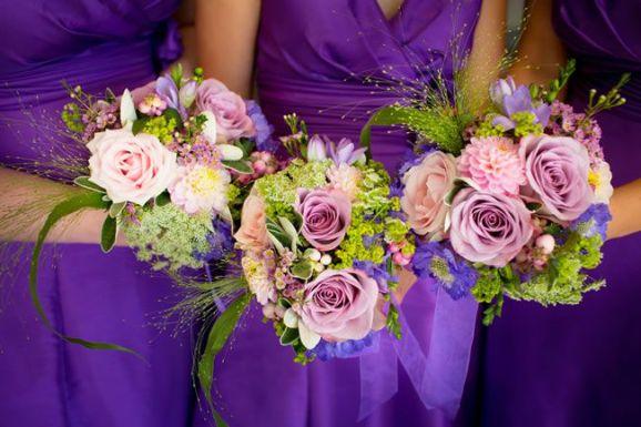 50 dos melhores buquês de casamento para noivas e empregadas domésticas © jamesdavidson.co.uk