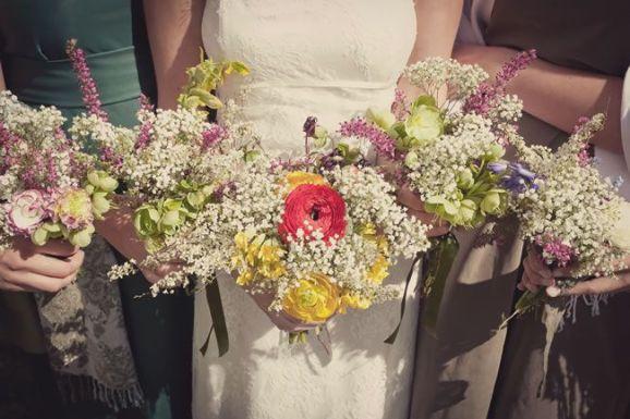 50 dos melhores buquês de casamento para noivas e empregadas domésticas © lissaalexandraphotography.com