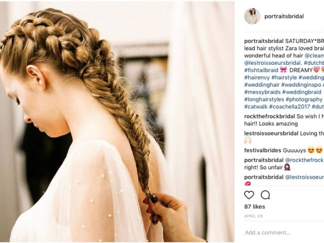 bridesmaid hairstyles-trends-2019