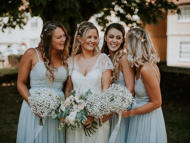 bridesmaid hairstyles guide