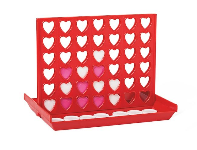 Love Hearts 4 in a Row, Flying Tiger Valentine's Day Gift Ideas on Every Budget