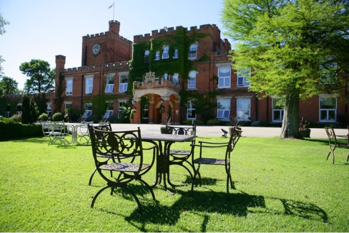 Exterior-with-table-at-ragdale-hall