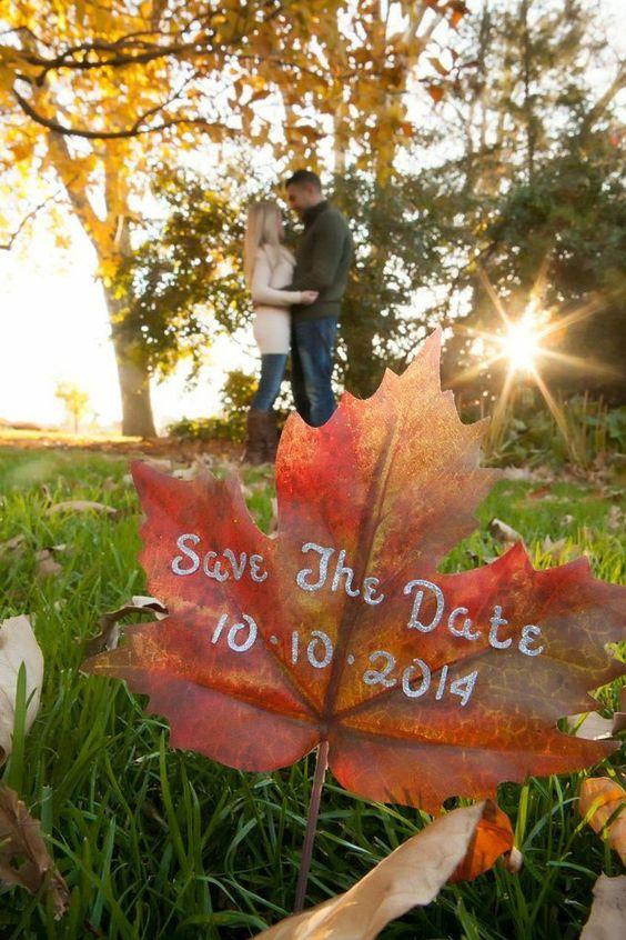 Unique Fall Wedding Ideas