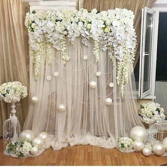 30 Unique And Breathtaking Wedding Backdrop Ideas Page 2